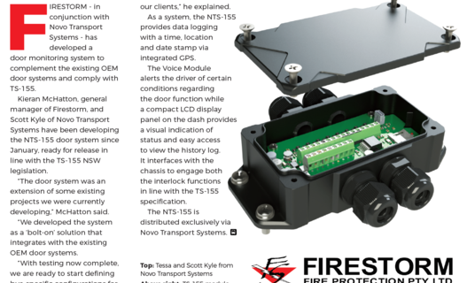 Collaboration with Firestorm Fire Protection